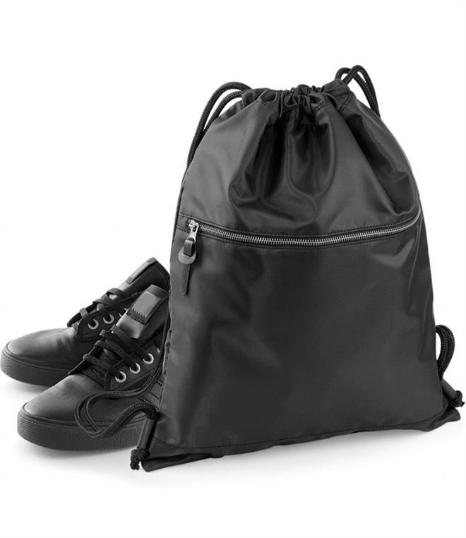 DISCONTINUED - BagBase Onyx Drawstring Backpack