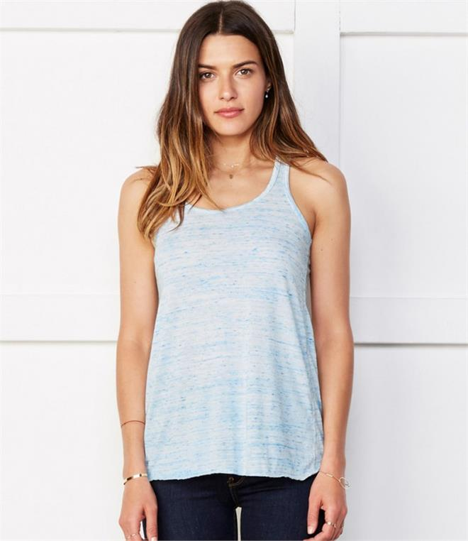 Bella Flowy Racer Back Tank Top