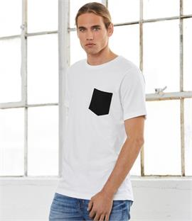Canvas Contrast Pocket T-Shirt