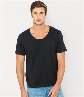 Canvas Wide Neck T-Shirt