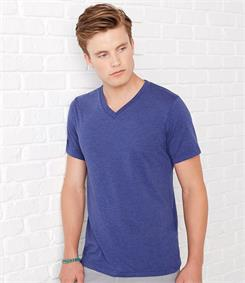 Canvas Triblend V Neck T-Shirt