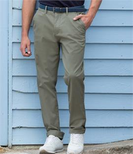 Front Row Stretch Chino Trousers