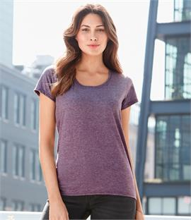 Gildan Ladies SoftStyle Deep Scoop T-Shirt