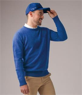 Glenmuir Golf Crew Neck Lambswool Sweater