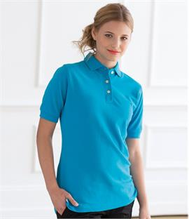 Henbury Ladies Classic Pique Polo Shirt