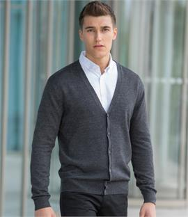 Henbury Lightweight V Neck Cardigan