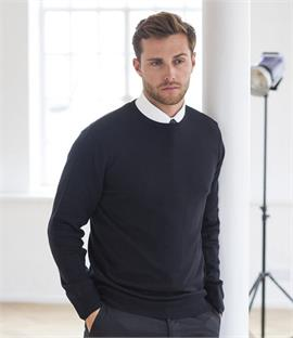 Henbury Lightweight Crew Neck Sweater