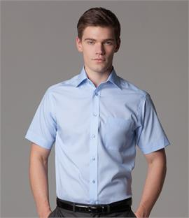 Kustom Kit Short Sleeve Premium Non-Iron Corporate Shirt