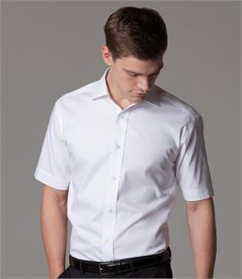 Kustom Kit Short Sleeve Executive Premium Oxford Shirt