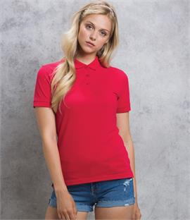 Kustom Kit Ladies Klassic Slim Fit Pique Polo Shirt