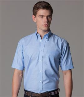 Kustom Kit Short Sleeve Workwear Oxford Shirt