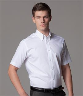 Kustom Kit Short Sleeve City Business Shirt