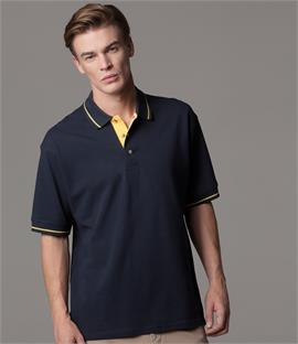 Kustom Kit St Mellion Tipped Pique Polo Shirt