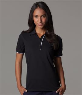 Kustom Kit Ladies Essential Pique Polo Shirt