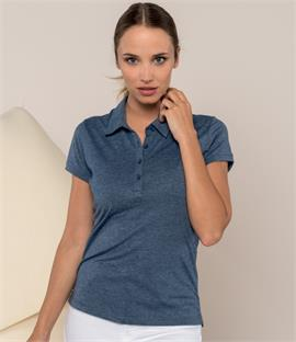 Kariban Ladies Jersey Blend Polo Shirt