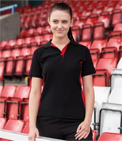 Finden & Hales Ladies Sports Pique Polo Shirt