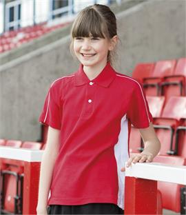 CLEARANCE - Finden & Hales Kids Sports Pique Polo Shirt