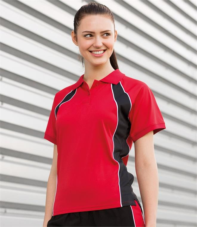DISCONTINUED - Finden & Hales Ladies Performance Team Polo Shirt