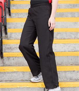 Finden & Hales Ladies Open Hem Track Pants