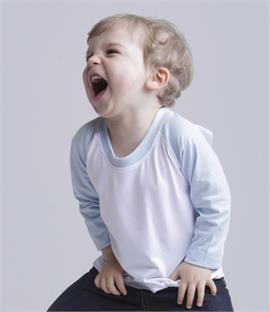 6ec6c12b3a Larkwood Baby Toddler Long Sleeve Baseball T-Shirt