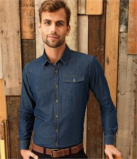 Premier Jeans Stitch Denim Shirt