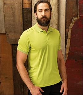 Premier Coolchecker Pique Polo Shirt