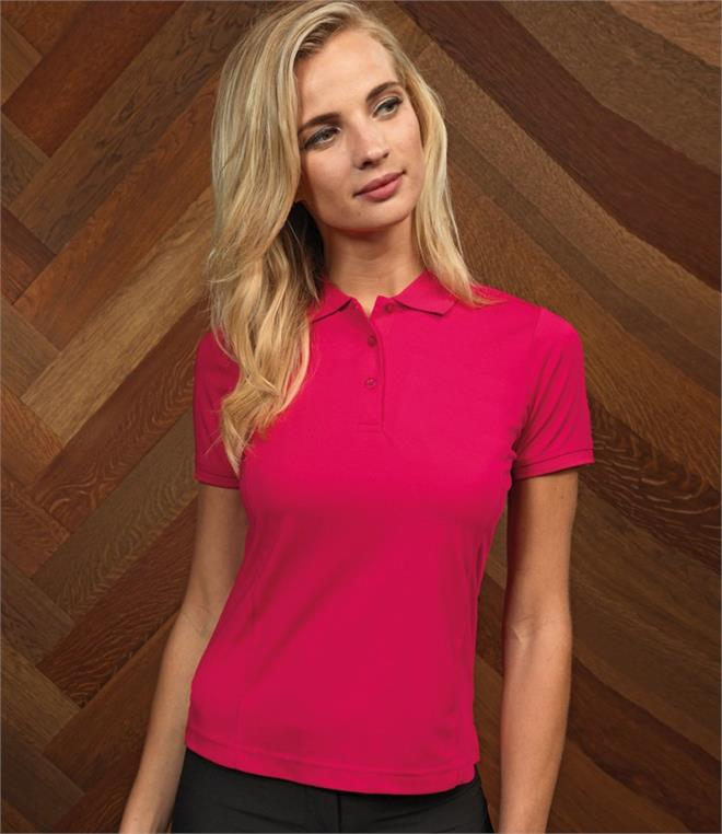 Premier Ladies Coolchecker Pique Polo Shirt