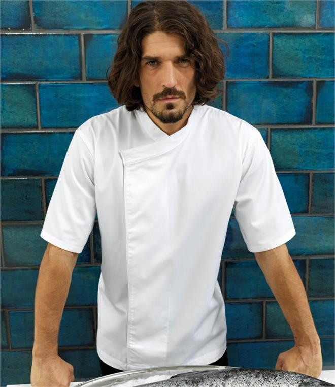 DISCONTINUED - Premier Short Sleeve Chef's Tunic