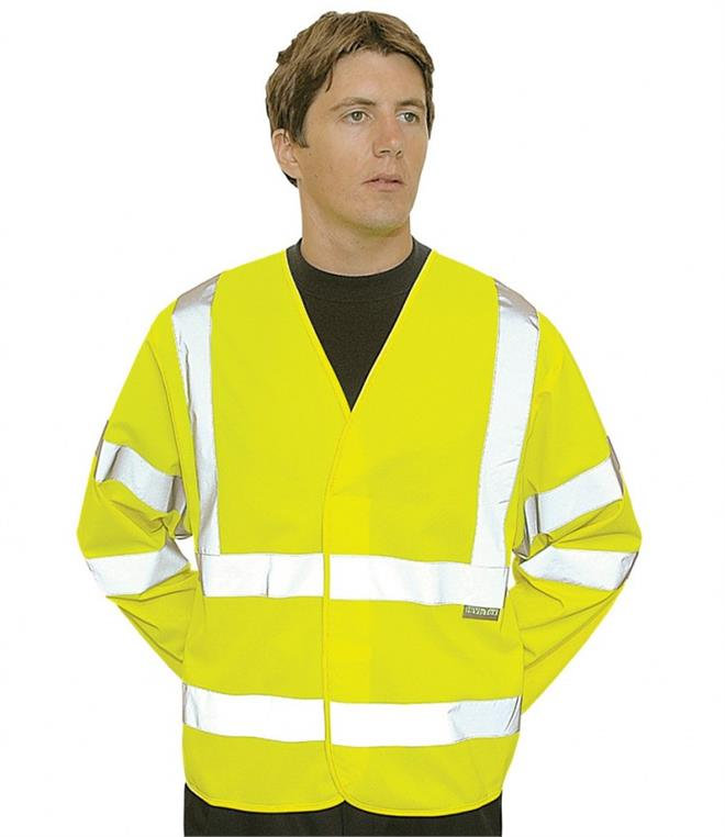 Portwest Hi-Vis Two Band & Brace Jacket