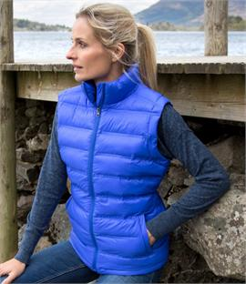 Result  Ladies Ice Bird Padded Gilet