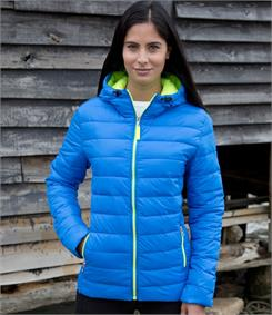 Result Ladies Urban Snow Bird Padded Jacket.
