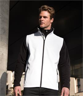 Result Core Printable Soft Shell Bodywarmer