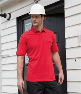 Result Work-Guard Apex Pique Polo Shirt