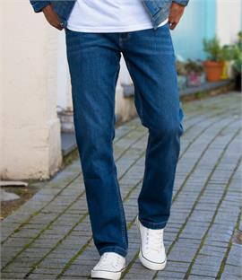 So Denim Mens Leo Straight Jeans