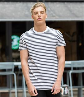 Skinnifit Unisex Striped T-Shirt