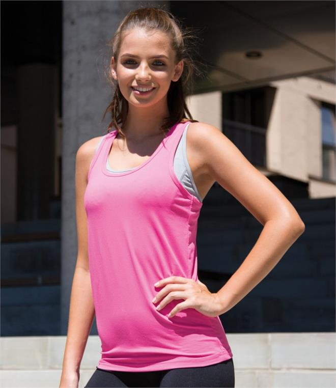 Spiro Ladies Impact Softex Fitness Top