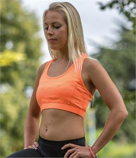 Spiro Ladies Impact Softex Crop Top