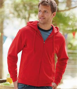 Fruit of the Loom Zip Hooded Sweatshirt