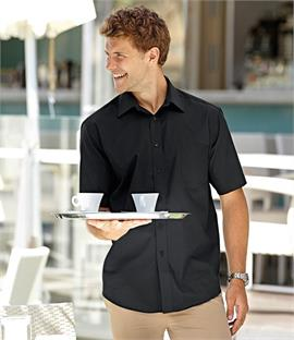 Fruit of the Loom Short Sleeve Poplin Shirt