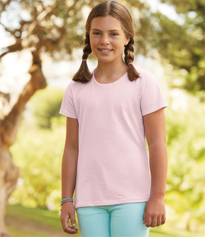 DISCONTINUED - Fruit Of The Loom Girls Sofspun T-Shirt