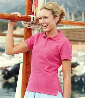 Fruit of the Loom Lady Fit Pique Polo Shirt